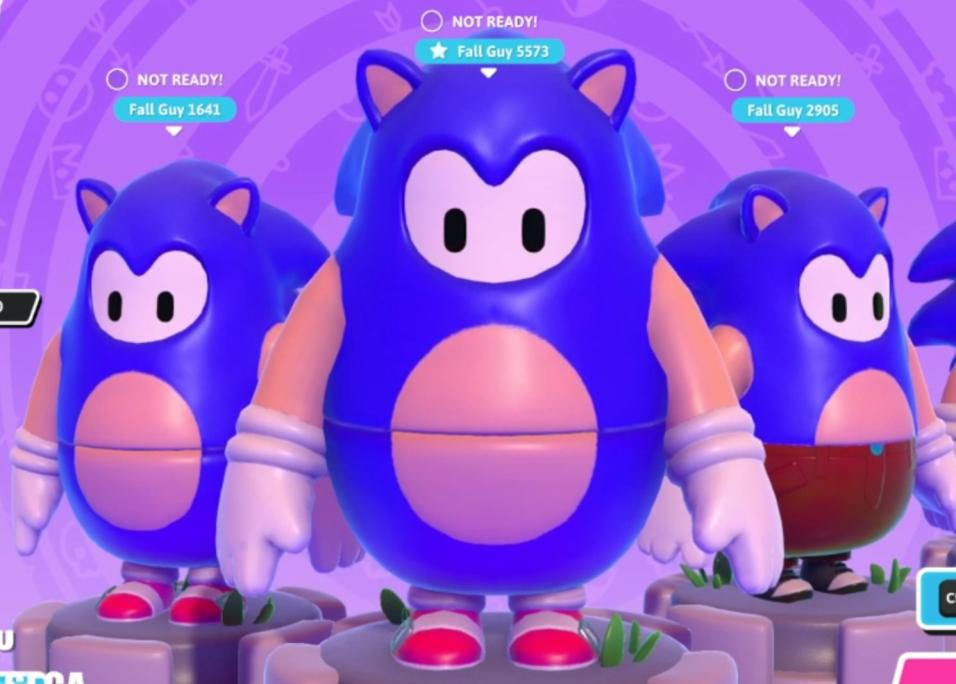 Sonic w Fall Guys nr 4