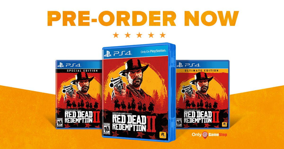 Red Dead Redemption 2 - PS4 - 99 GB (150 GB for digital