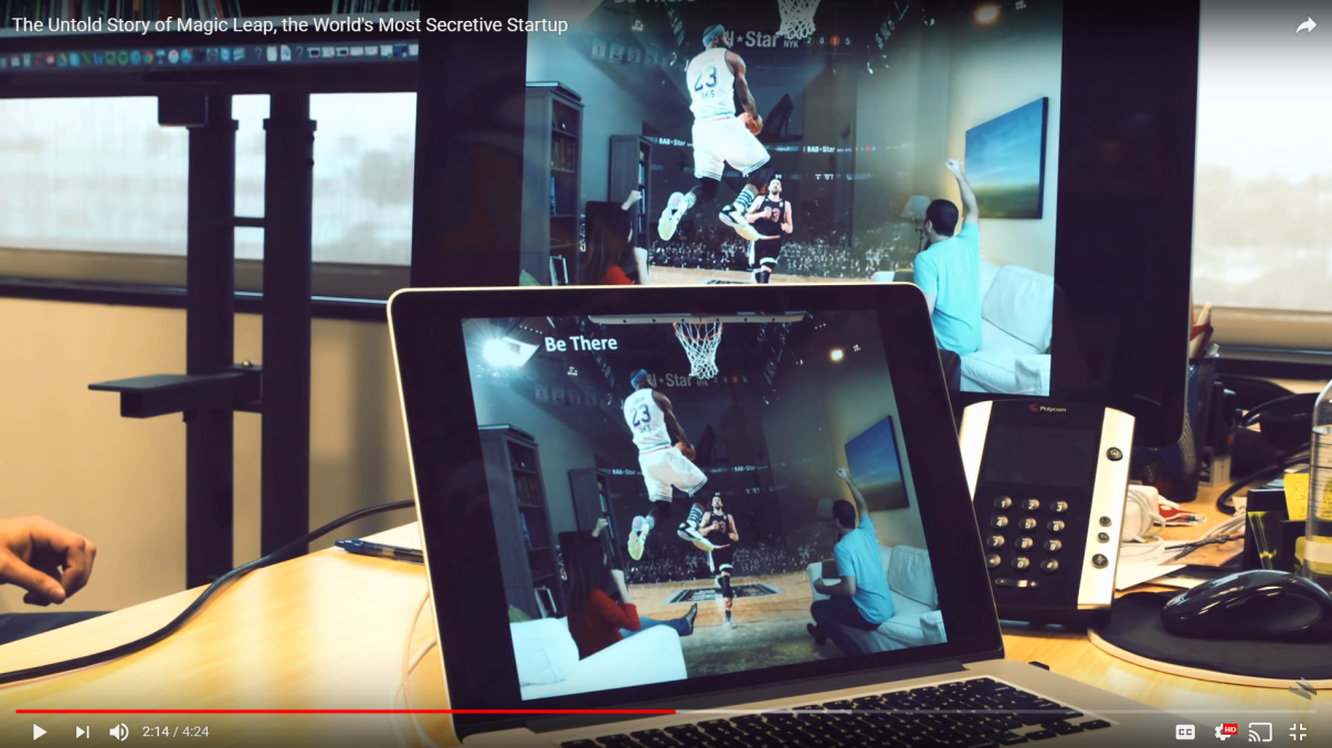 on the untold story video by WIRED Some concept work suggest big FOV ...