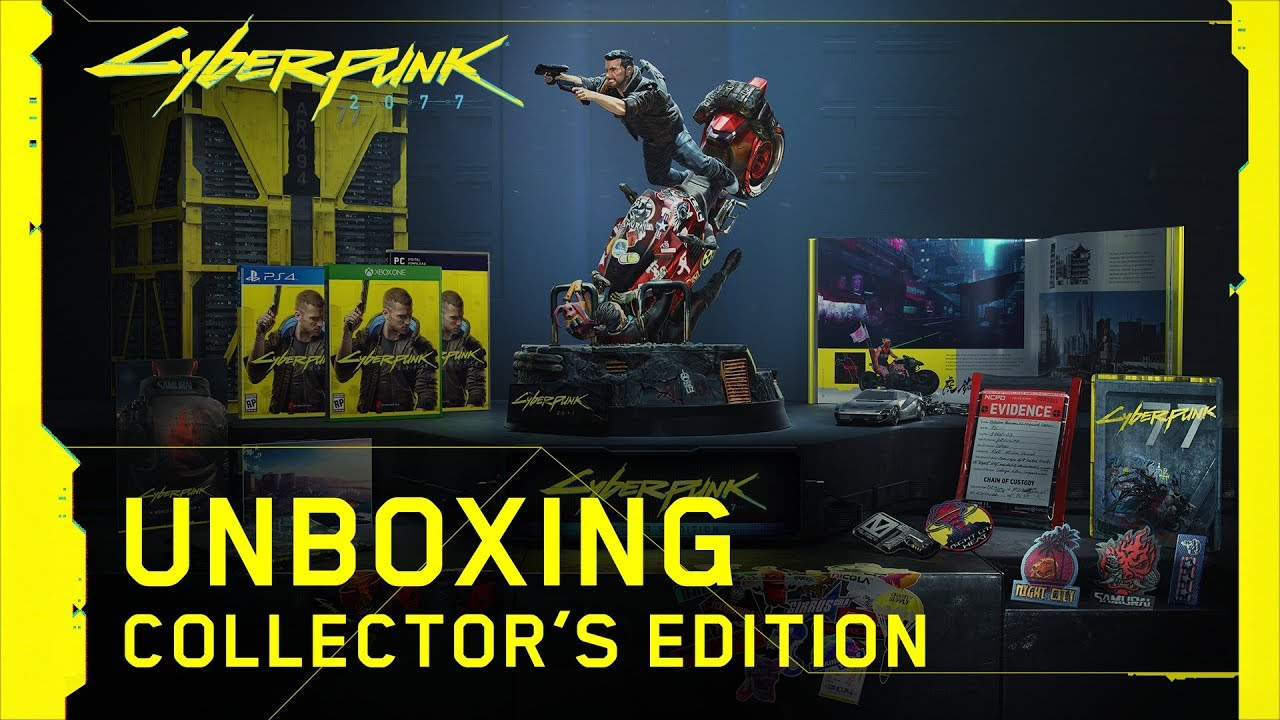 Pin by PCGamesplay1 on Gaming Cyberpunk 2077, Unboxing