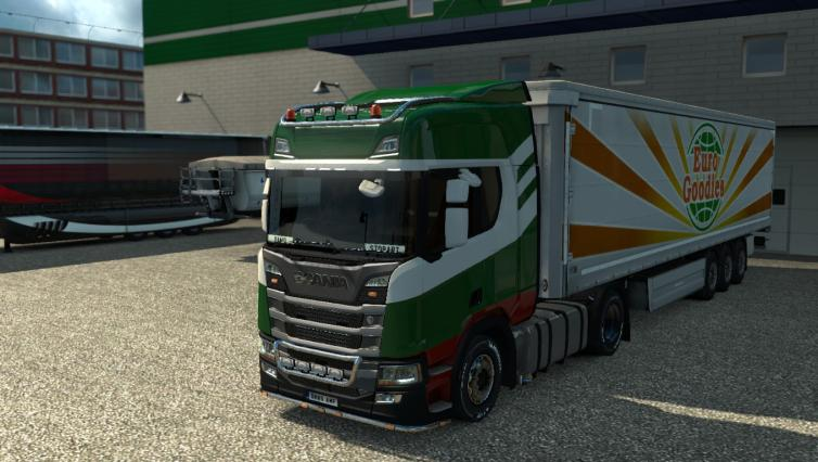New Scania R
