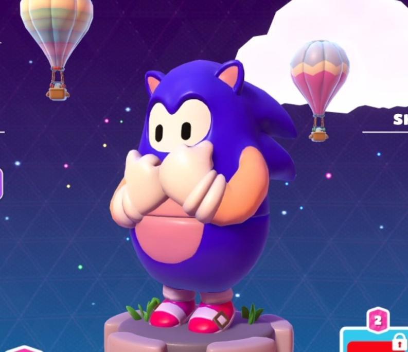 Sonic w Fall Guys nr 3